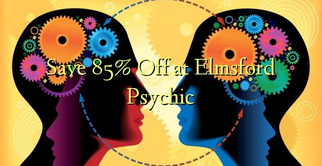 በ Elmsford Psychic ላይ 85% ቅናሽ አስቀምጥ