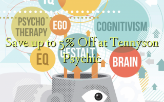 Save up to 5% Off at Tennyson Psychic