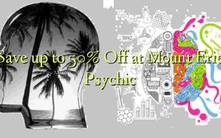 Gem op til 50% Off ved Mount Erie Psychic