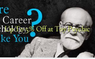Akár 5% ki a Toy Psychic-nél