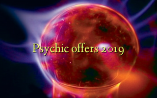 Psychic offre 2019